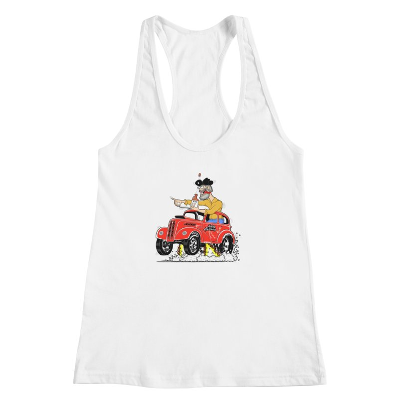 1948 Anglia for Dennis. Rev 1  Women's Racerback Tank by screamnjimmy's Artist Shop