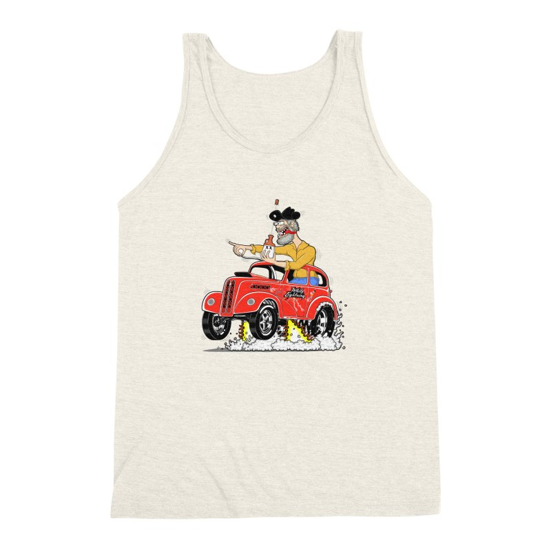 1948 Anglia for Dennis. Rev 1  Men's Triblend Tank by screamnjimmy's Artist Shop