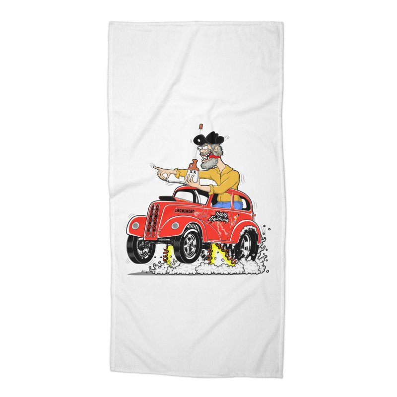 1948 Anglia for Dennis. Rev 1  Accessories Beach Towel by screamnjimmy's Artist Shop