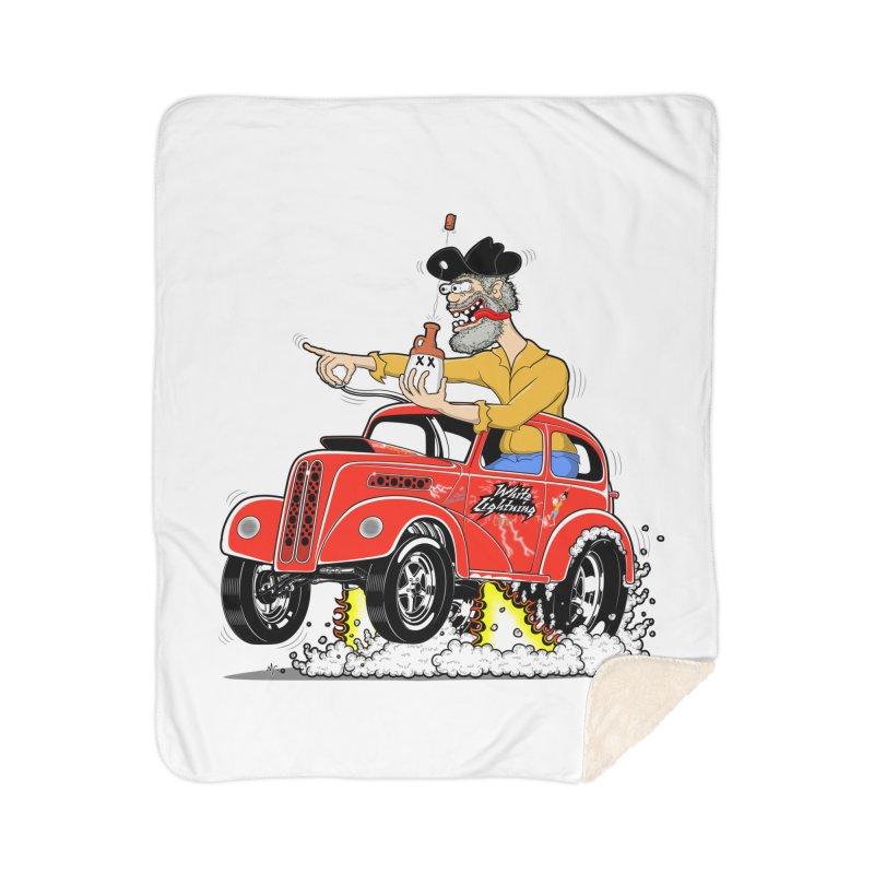1948 Anglia for Dennis. Rev 1  Home Sherpa Blanket Blanket by screamnjimmy's Artist Shop