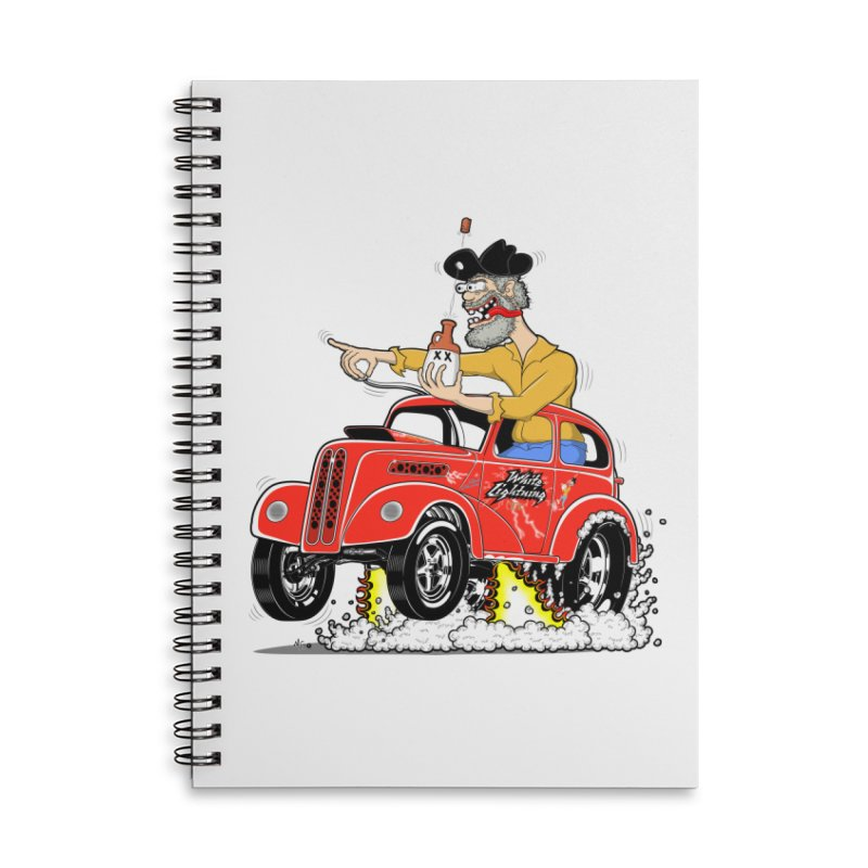 1948 Anglia for Dennis. Rev 1  Accessories Lined Spiral Notebook by screamnjimmy's Artist Shop