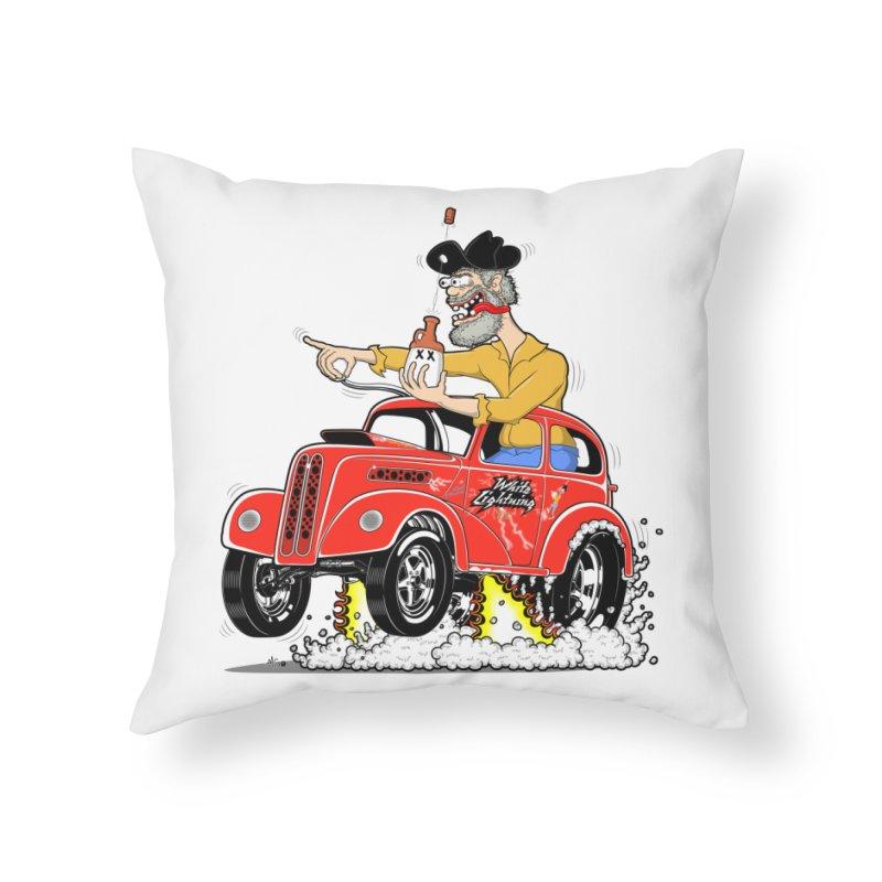 1948 Anglia for Dennis. Rev 1  Home Throw Pillow by screamnjimmy's Artist Shop