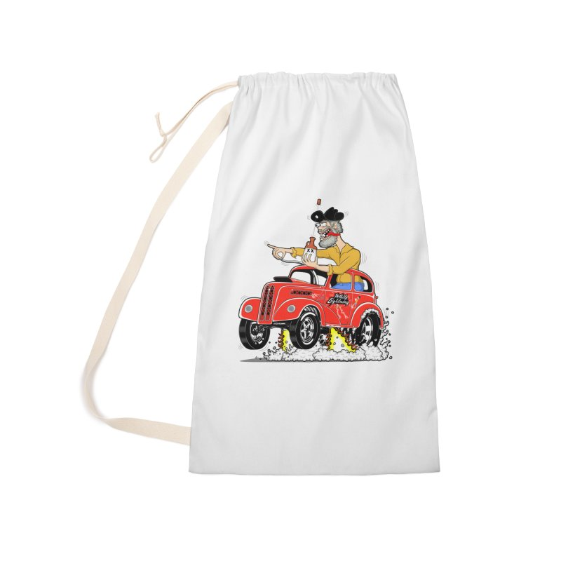 1948 Anglia for Dennis. Rev 1  Accessories Laundry Bag Bag by screamnjimmy's Artist Shop