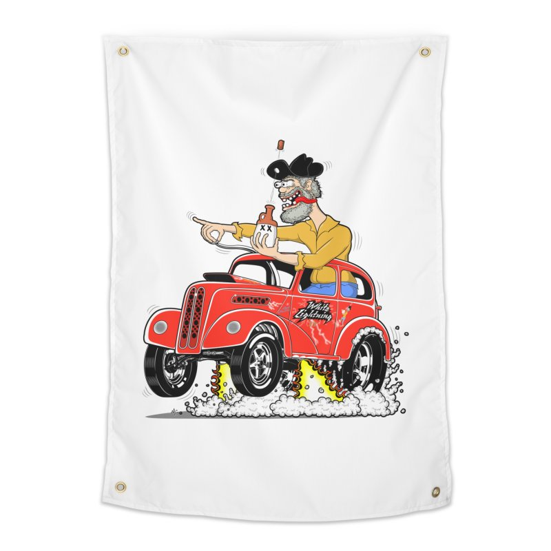 1948 Anglia for Dennis. Rev 1  Home Tapestry by screamnjimmy's Artist Shop