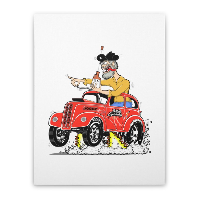 1948 Anglia for Dennis. Rev 1  Home Stretched Canvas by screamnjimmy's Artist Shop