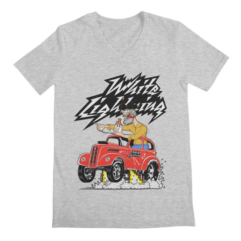 1948 Anglia #2 Men's V-Neck by screamnjimmy's Artist Shop