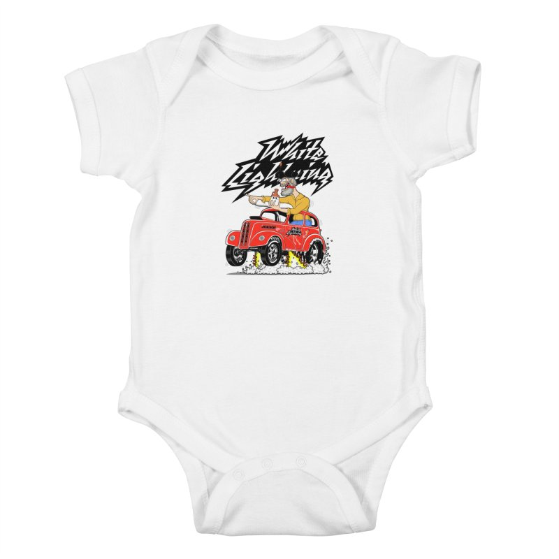 1948 Anglia #2 Kids Baby Bodysuit by screamnjimmy's Artist Shop