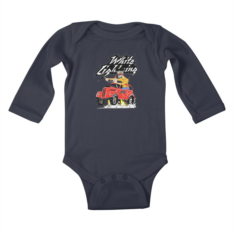1948 Anglia #2 Kids Baby Longsleeve Bodysuit by screamnjimmy's Artist Shop