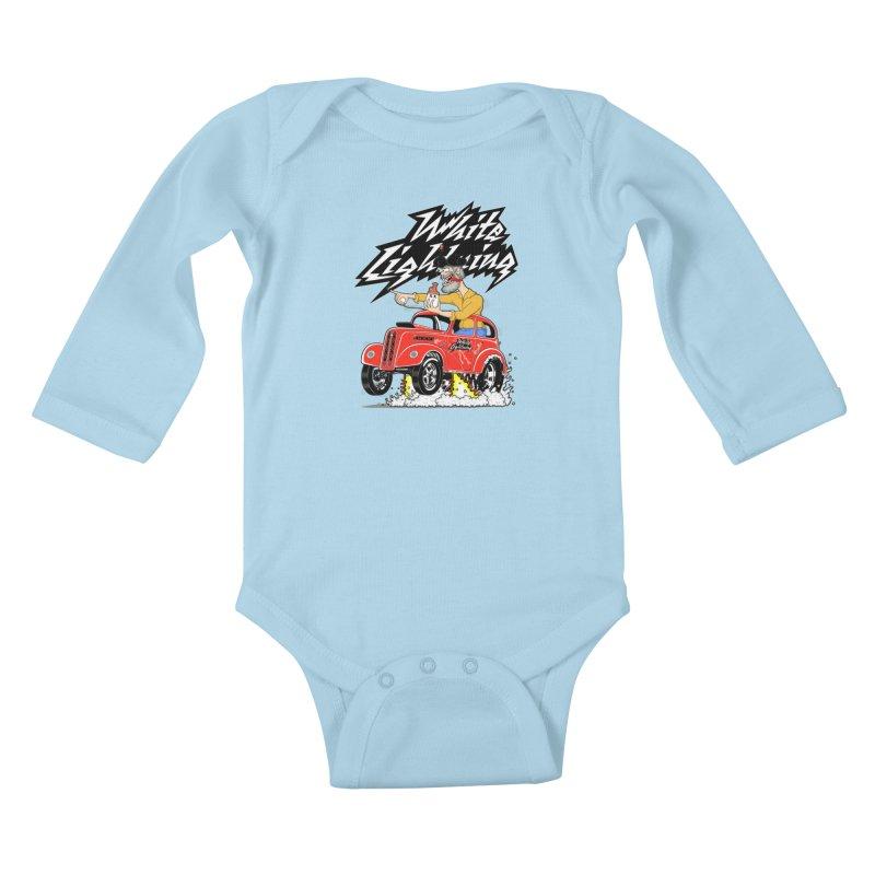 1948 Anglia #2 Kids Baby Longsleeve Bodysuit by screamnjimmy's Artist Shop
