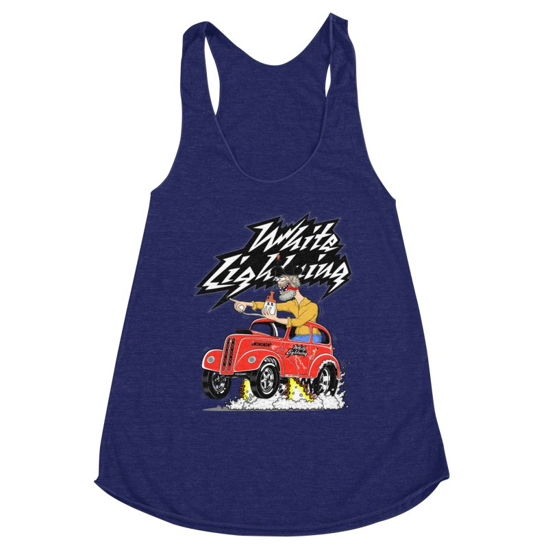 1948 Anglia #2 Women's Racerback Triblend Tank by screamnjimmy's Artist Shop