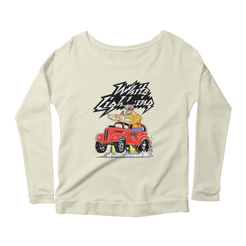 1948 Anglia #2 Women's Longsleeve Scoopneck  by screamnjimmy's Artist Shop