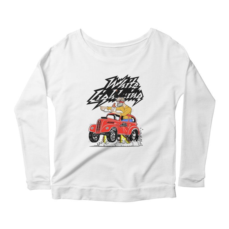 1948 Anglia #2 Women's Scoop Neck Longsleeve T-Shirt by screamnjimmy's Artist Shop