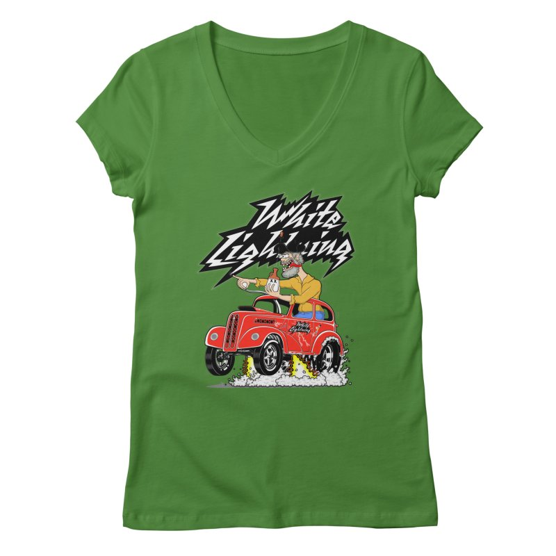 1948 Anglia #2 Women's V-Neck by screamnjimmy's Artist Shop