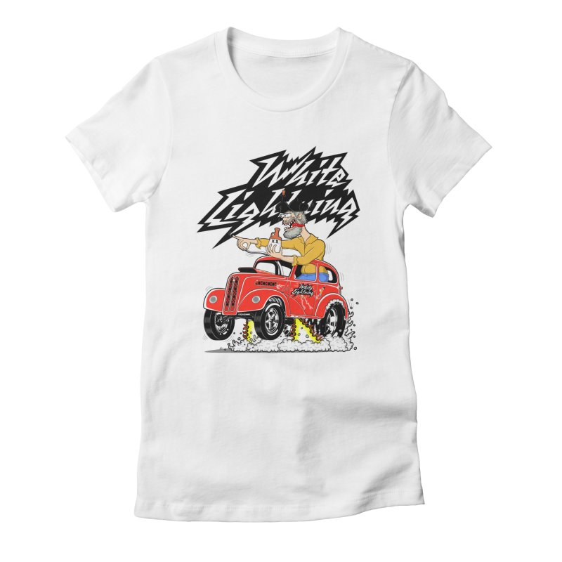 1948 Anglia #2 Women's Fitted T-Shirt by screamnjimmy's Artist Shop