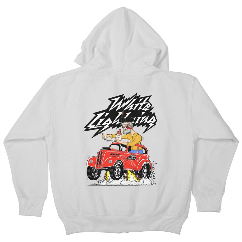 1948 Anglia #2 Kids Zip-Up Hoody by screamnjimmy's Artist Shop