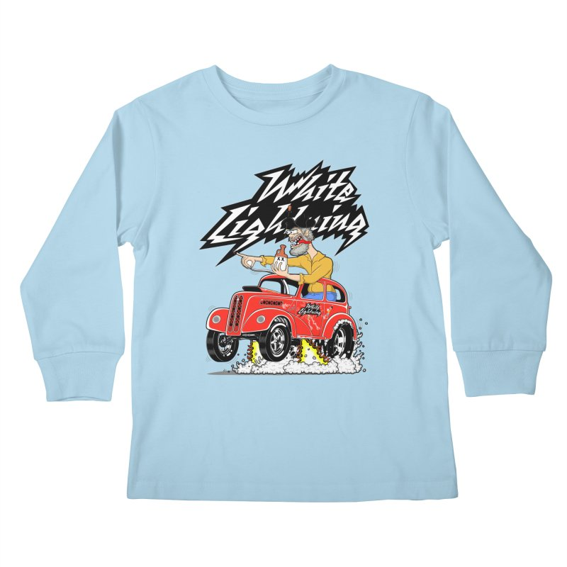 1948 Anglia #2 Kids Longsleeve T-Shirt by screamnjimmy's Artist Shop