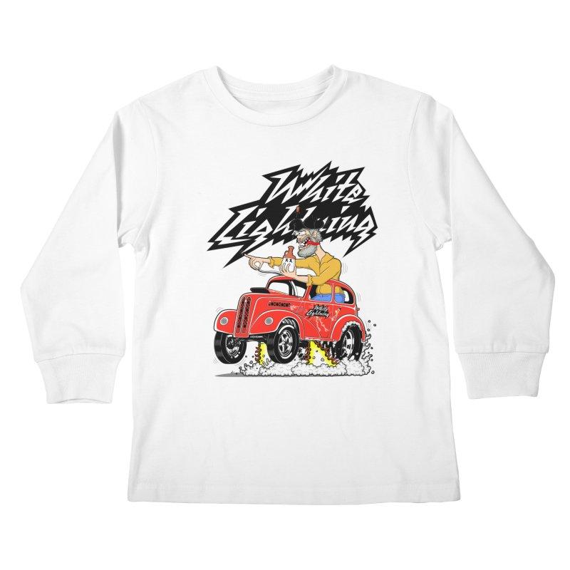 1948 Anglia #2 Kids Longsleeve T-Shirt by screamnjimmy's Artist Shop