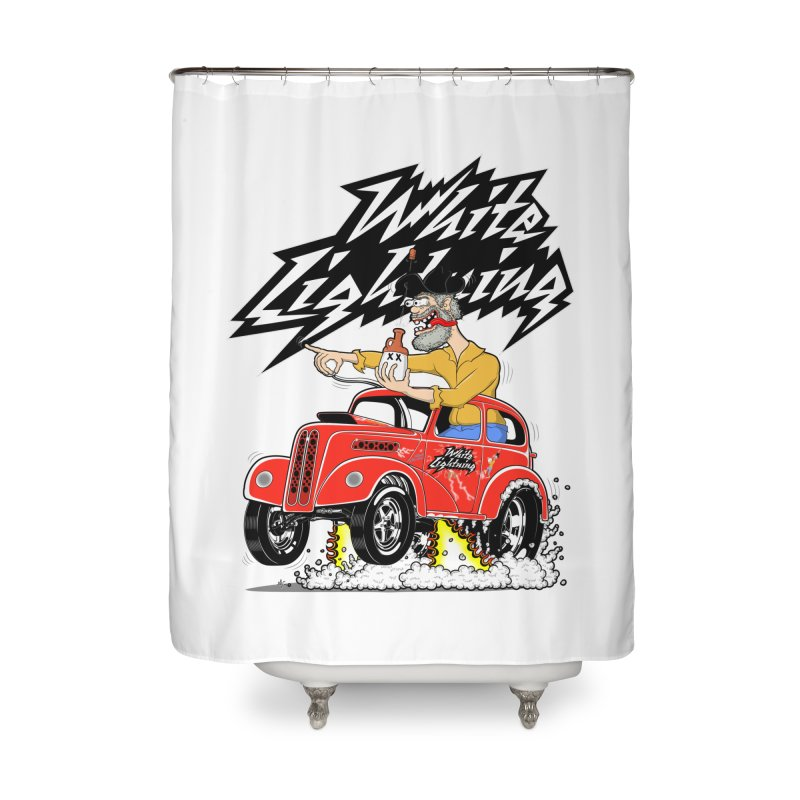1948 Anglia #2 Home Shower Curtain by screamnjimmy's Artist Shop