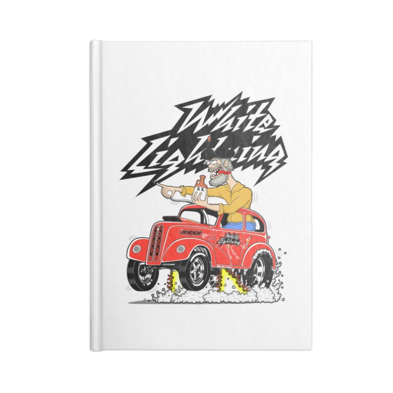 1948 Anglia #2 Accessories Lined Journal Notebook by screamnjimmy's Artist Shop