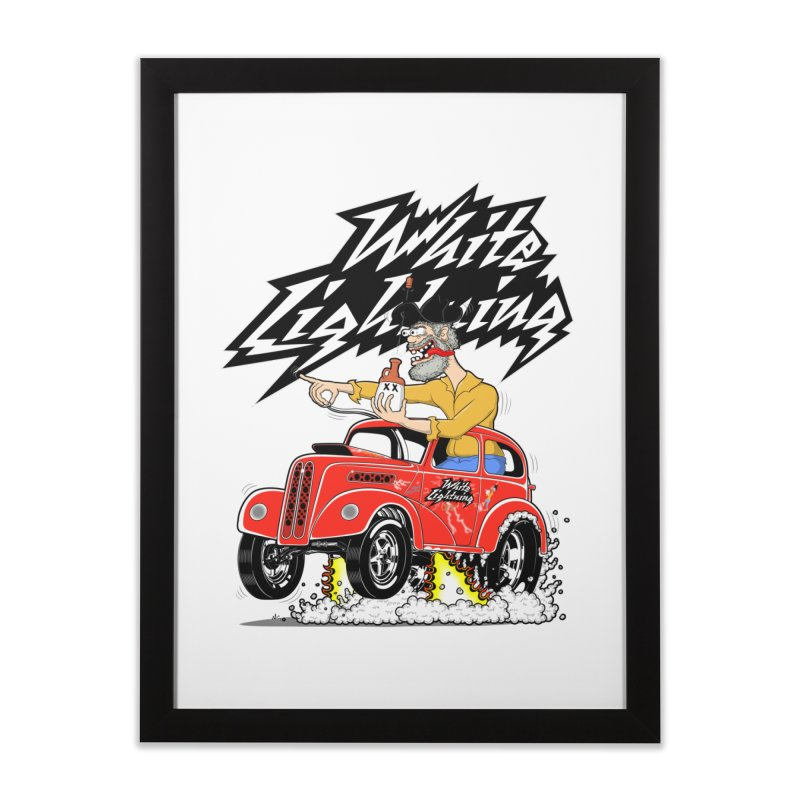 1948 Anglia #2 Home Framed Fine Art Print by screamnjimmy's Artist Shop