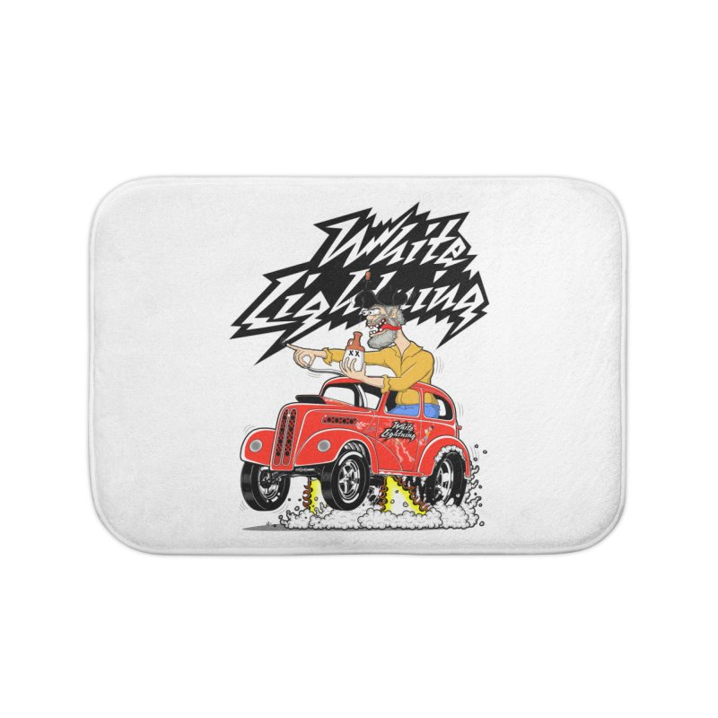 1948 Anglia #2 Home Bath Mat by screamnjimmy's Artist Shop