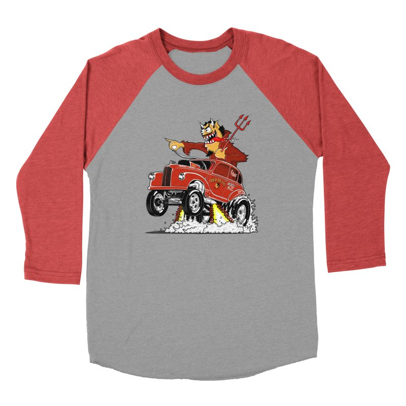 1948 Austin Gasser #1 Women's Baseball Triblend Longsleeve T-Shirt by screamnjimmy's Artist Shop