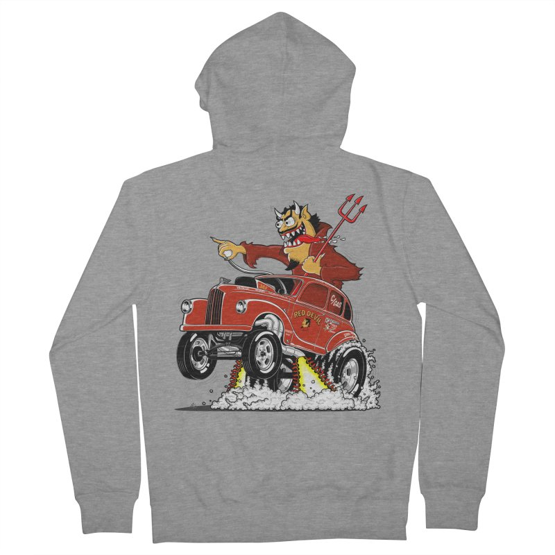 1948 Austin Gasser #1 Women's French Terry Zip-Up Hoody by screamnjimmy's Artist Shop