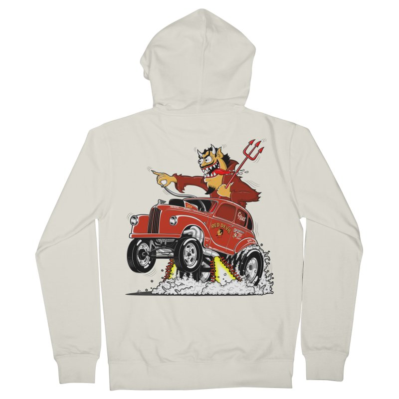 1948 Austin Gasser #1 Women's Zip-Up Hoody by screamnjimmy's Artist Shop