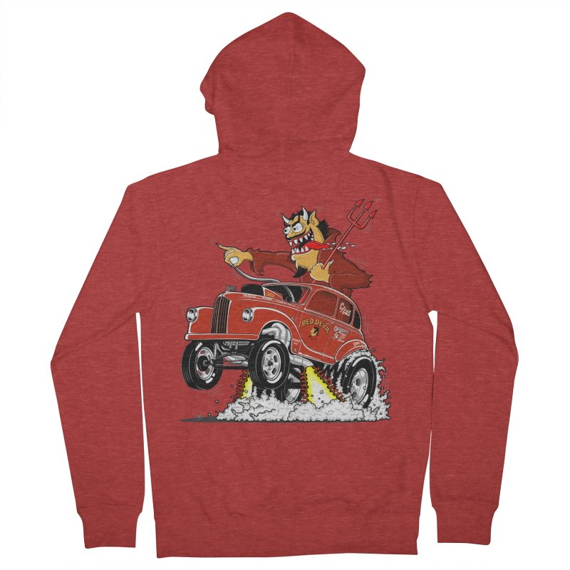 1948 Austin Gasser #1 Men's French Terry Zip-Up Hoody by screamnjimmy's Artist Shop