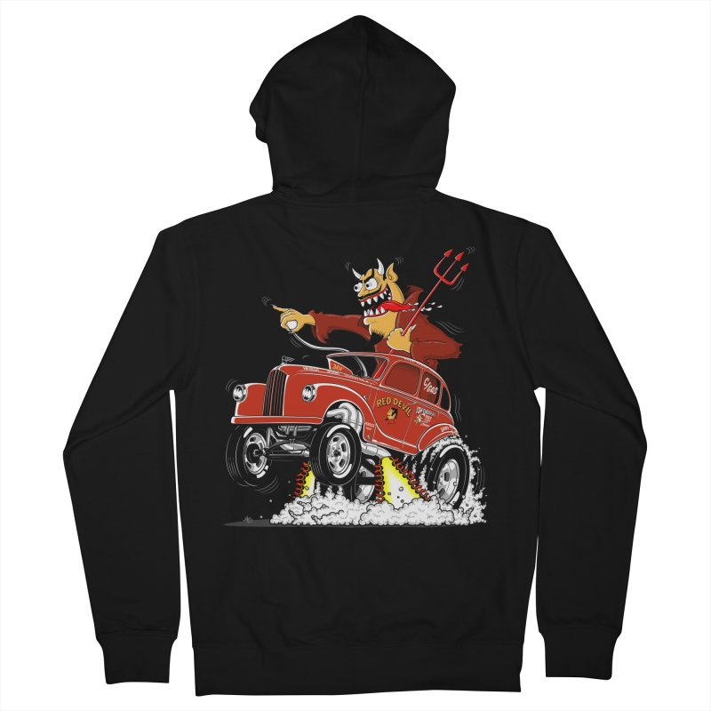 1948 Austin Gasser #1 Men's Zip-Up Hoody by screamnjimmy's Artist Shop