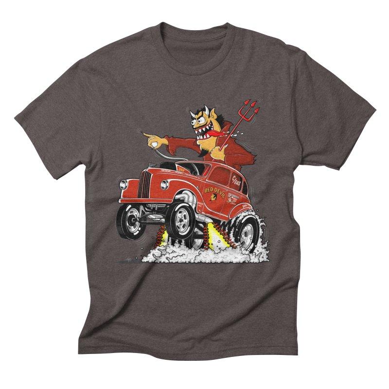 1948 Austin Gasser #1 Men's Triblend T-Shirt by screamnjimmy's Artist Shop