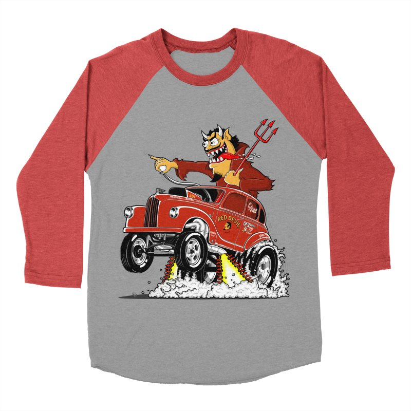 1948 Austin Gasser #1 Men's Baseball Triblend Longsleeve T-Shirt by screamnjimmy's Artist Shop