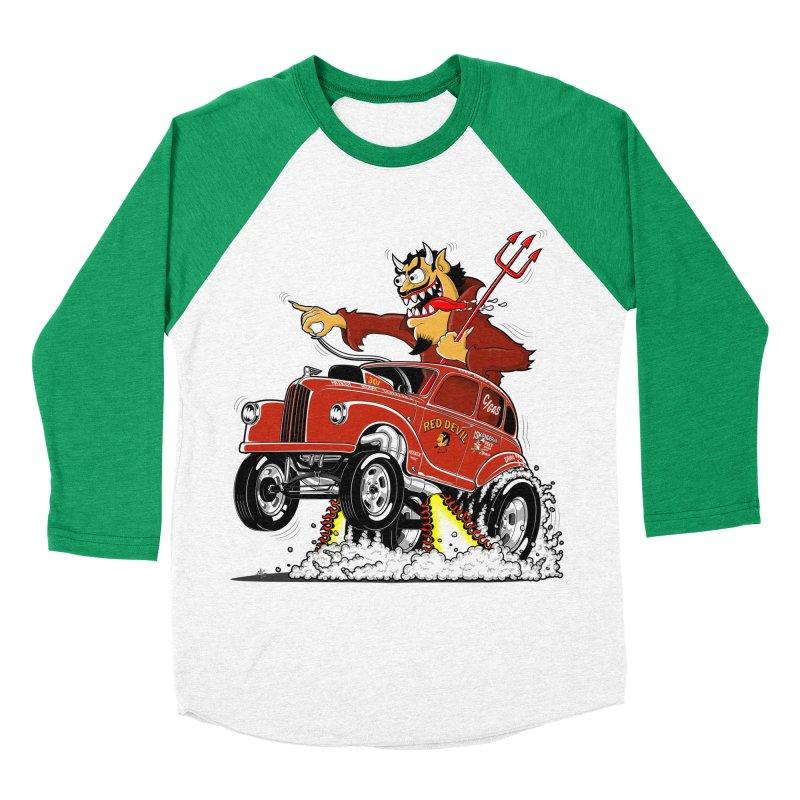 1948 Austin Gasser #1 Men's Baseball Triblend T-Shirt by screamnjimmy's Artist Shop