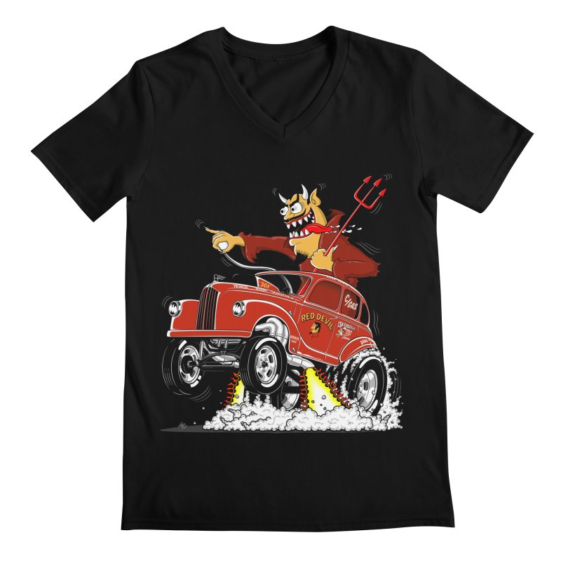 1948 Austin Gasser #1 Men's Regular V-Neck by screamnjimmy's Artist Shop
