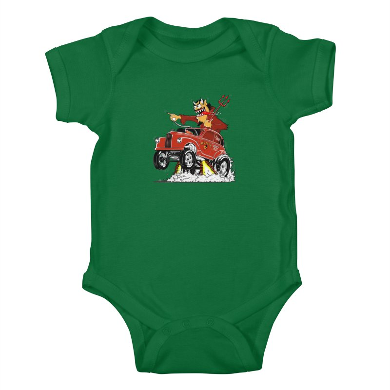 1948 Austin Gasser #1 Kids Baby Bodysuit by screamnjimmy's Artist Shop