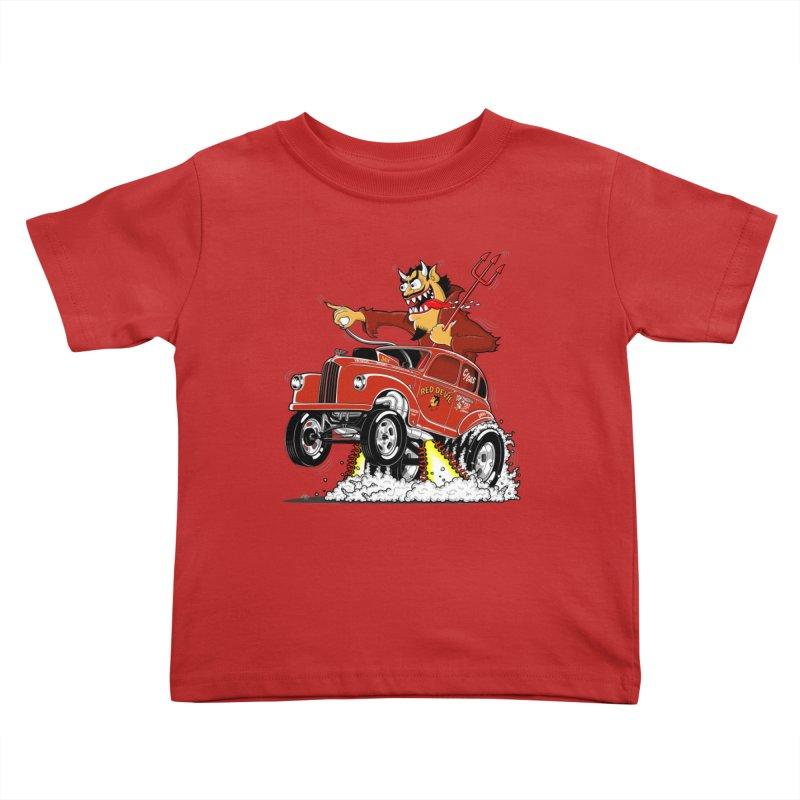 1948 Austin Gasser #1 Kids Toddler T-Shirt by screamnjimmy's Artist Shop