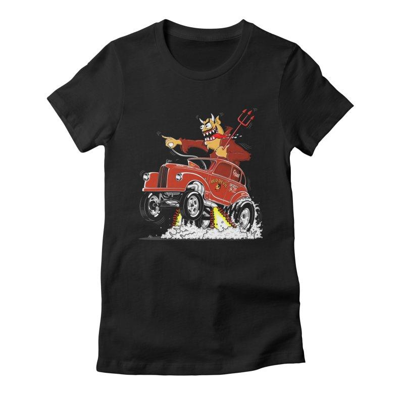 1948 Austin Gasser #1 Women's T-Shirt by screamnjimmy's Artist Shop