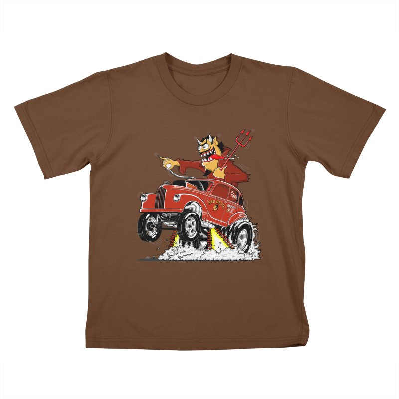1948 Austin Gasser #1 Kids T-Shirt by screamnjimmy's Artist Shop