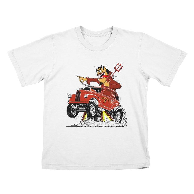 1948 Austin Gasser #1 Kids T-Shirt by screamnjimmy's Artist Shop
