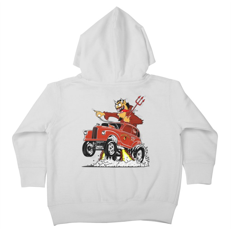 1948 Austin Gasser #1 Kids Toddler Zip-Up Hoody by screamnjimmy's Artist Shop