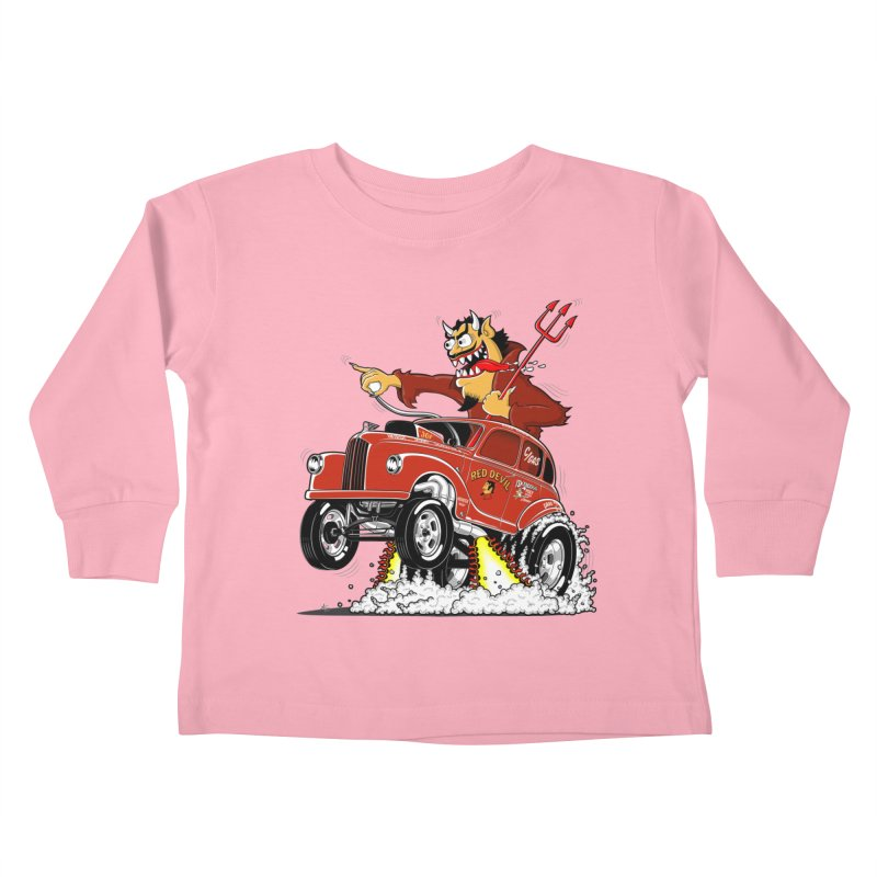 1948 Austin Gasser #1 Kids Toddler Longsleeve T-Shirt by screamnjimmy's Artist Shop