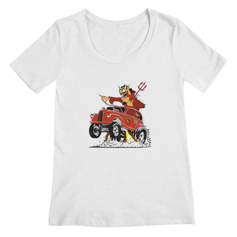 1948 Austin Gasser #1 Women's Regular Scoop Neck by screamnjimmy's Artist Shop