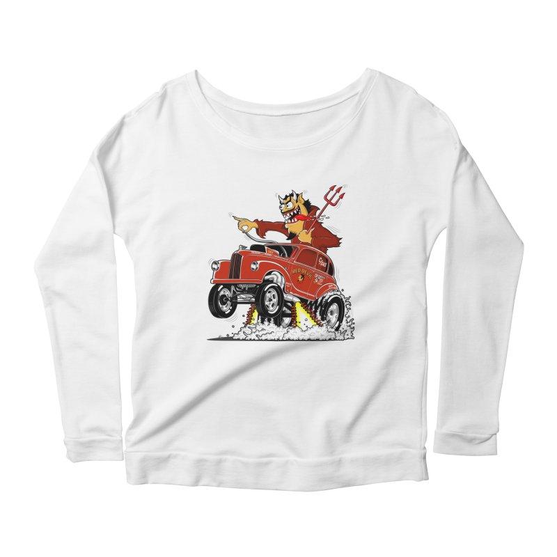1948 Austin Gasser #1 Women's Scoop Neck Longsleeve T-Shirt by screamnjimmy's Artist Shop