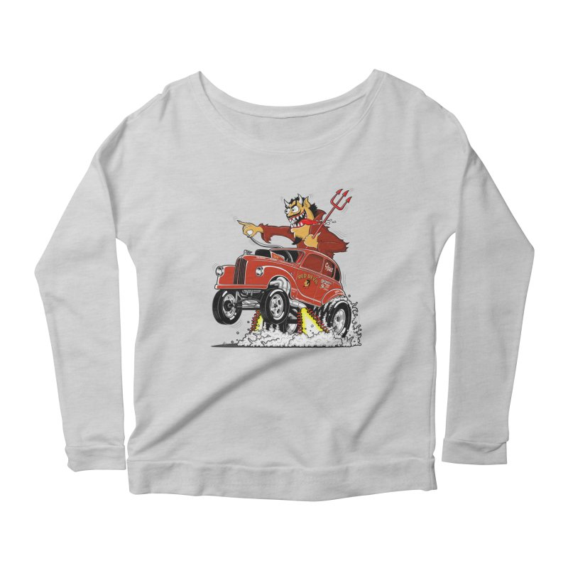 1948 Austin Gasser #1 Women's Longsleeve Scoopneck  by screamnjimmy's Artist Shop