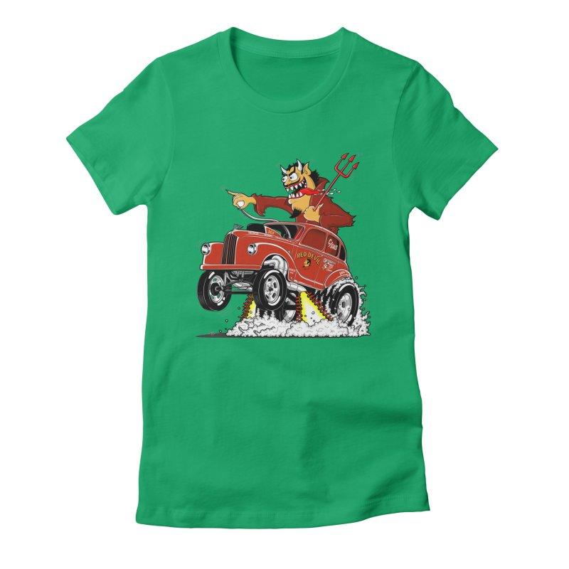 1948 Austin Gasser #1 Women's Fitted T-Shirt by screamnjimmy's Artist Shop