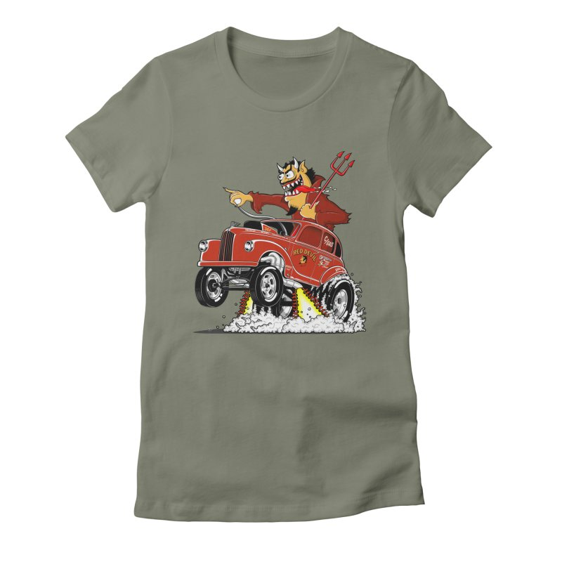 1948 Austin Gasser #1 Women's Fitted T-Shirt by screamnjimmy's Artist Shop