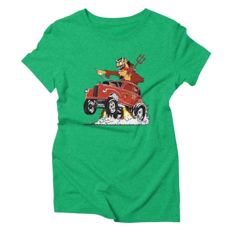 1948 Austin Gasser #1 Women's Triblend T-Shirt by screamnjimmy's Artist Shop
