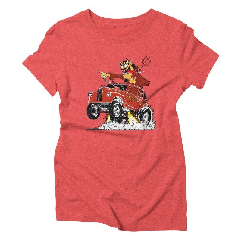 1948 Austin Gasser #1 Women's Triblend T-Shirt by screamnjimmy's Artist Shop