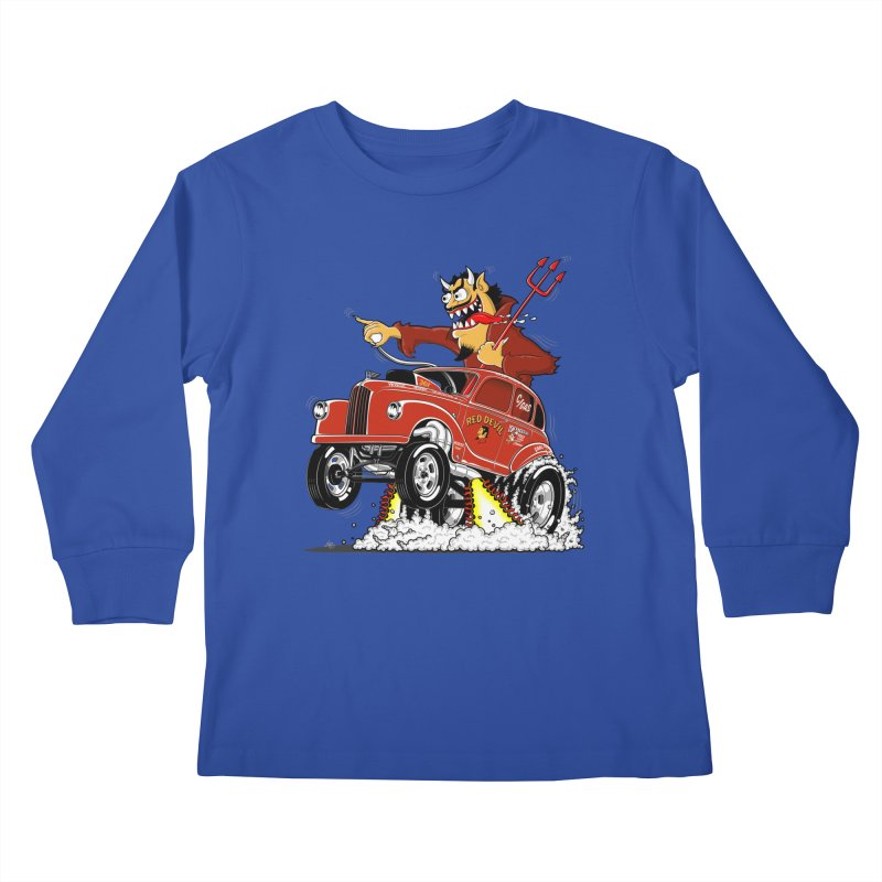 1948 Austin Gasser #1 Kids Longsleeve T-Shirt by screamnjimmy's Artist Shop
