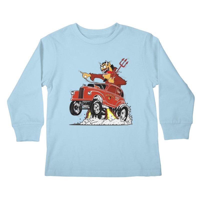 1948 Austin Gasser #1 Kids Longsleeve T-Shirt by screamnjimmy's Artist Shop